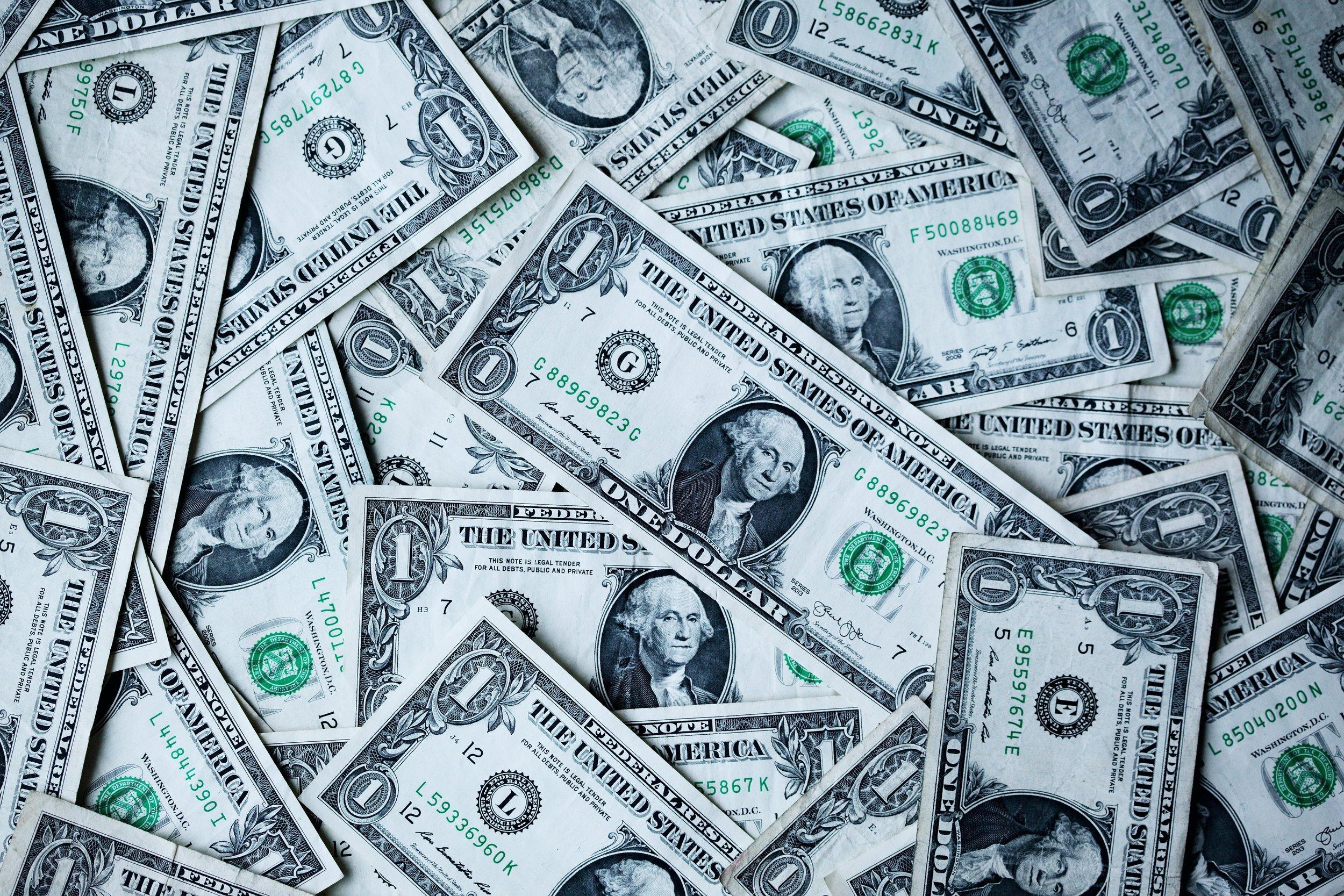 I still live paycheck to paycheck. -