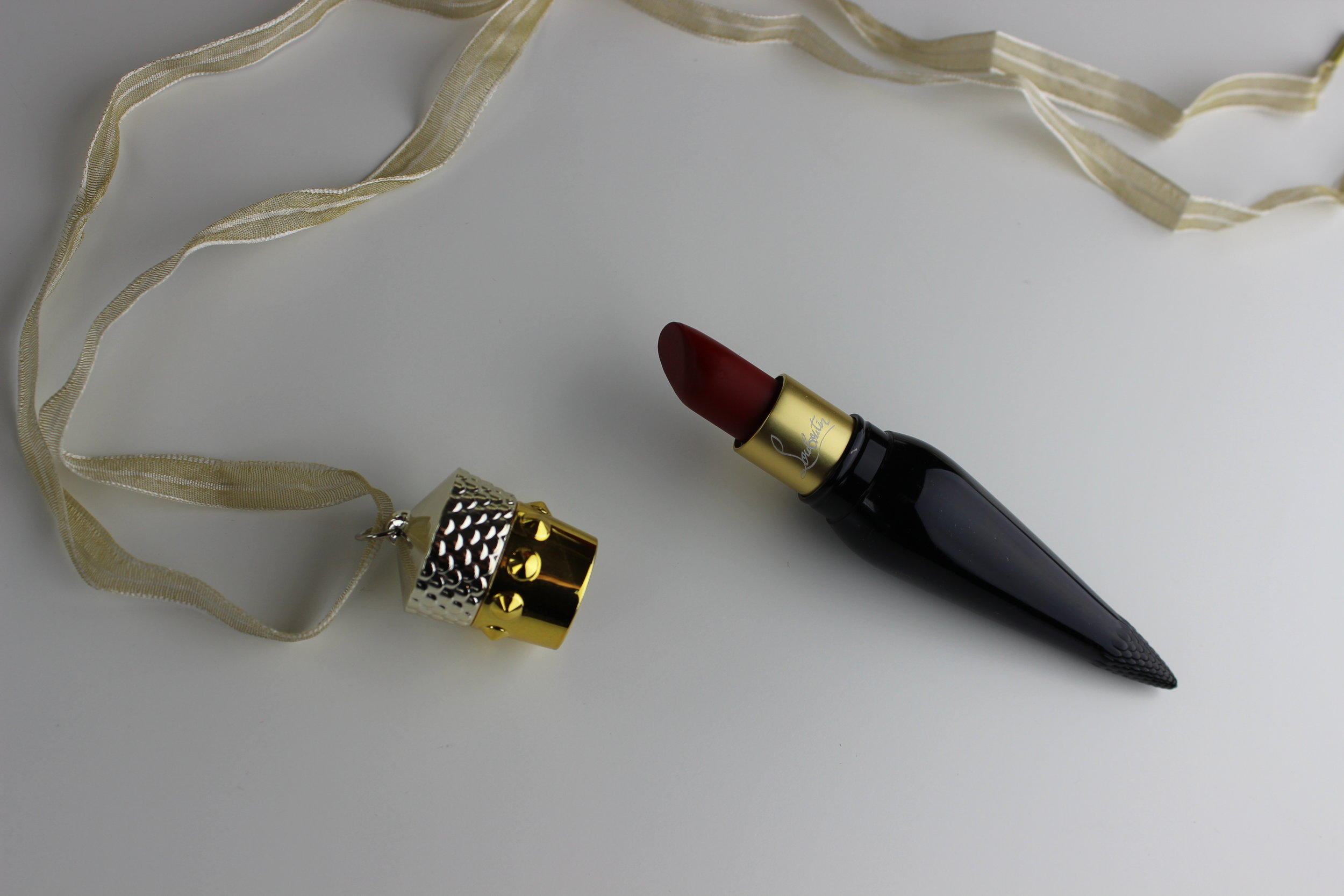 Christian Louboutin Velvet Matte Lip Colour in Rouge Louboutin