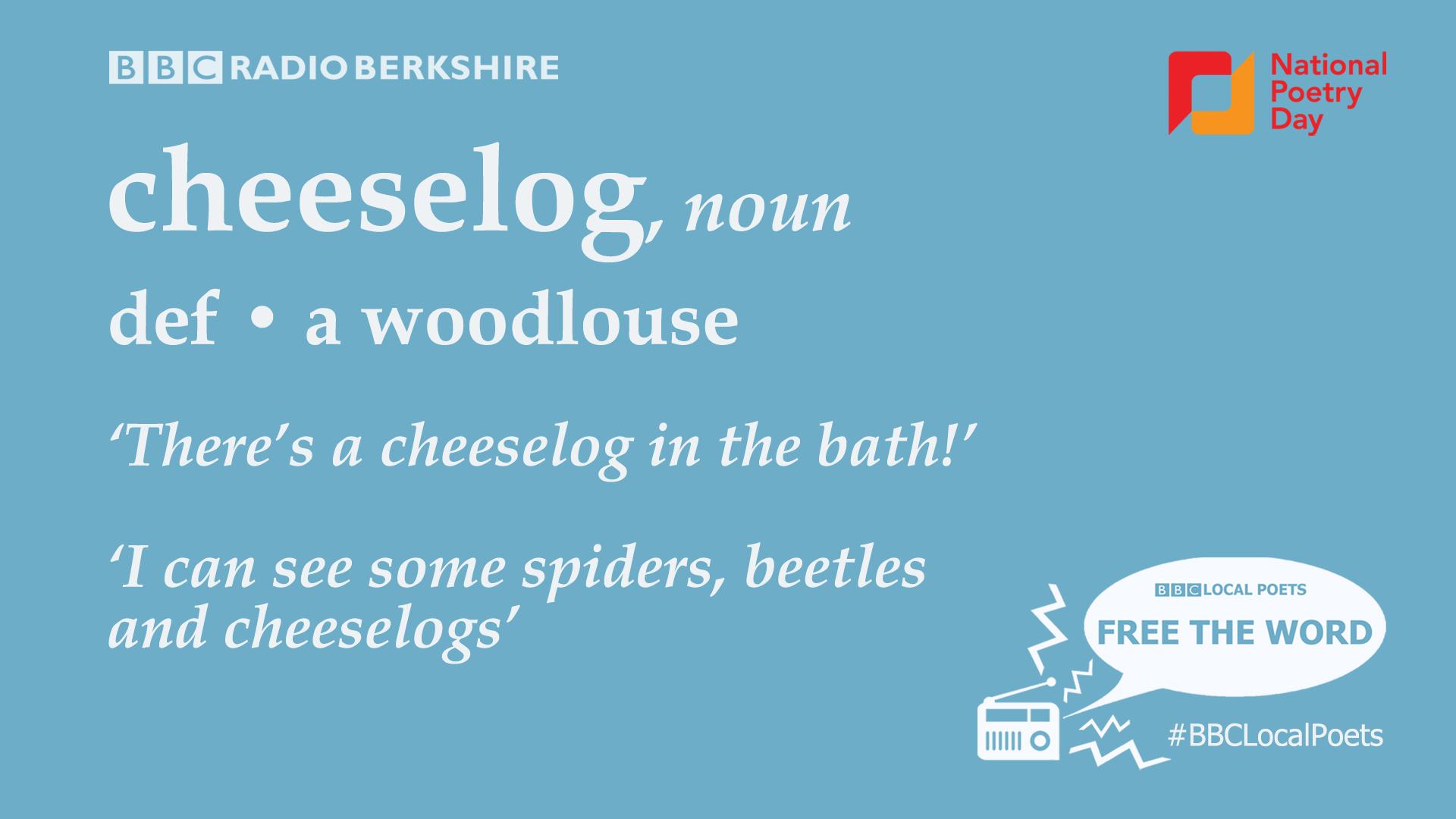 Cheeselog was chosen by BBC Radio Berkshire listeners.