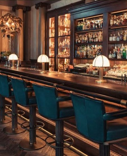 Cosiest cocktail spot: Scarfes Bar, London
