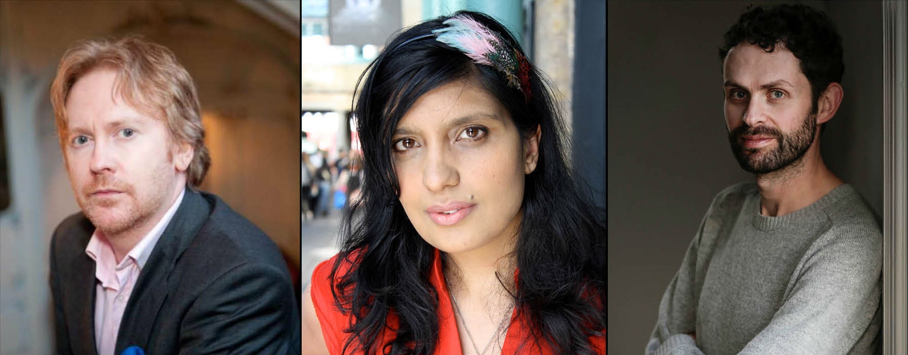 Rathbones Folio Prize 2020 Judges: Paul Farley, Nikita Lalwani, Ross Raisin