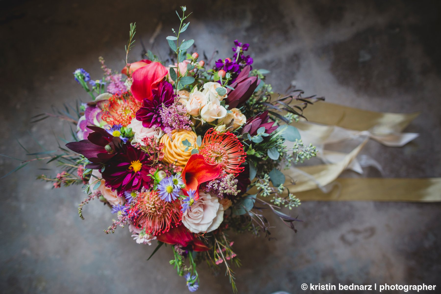 and Lauren's bouquet was AMAZEBALLS!  I'm sorry! But just gorgeous!  All you other bouquets can just quit because YOU'VE BEEN BEAT!