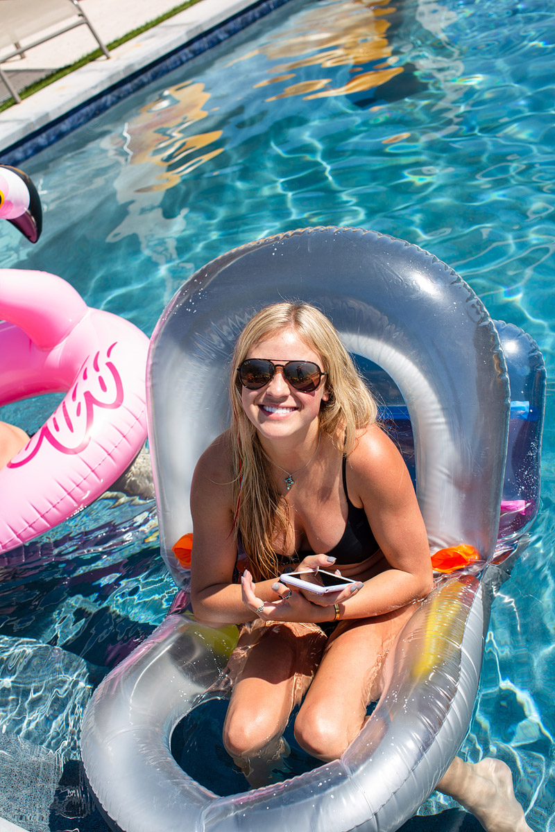 Floaties are fun!