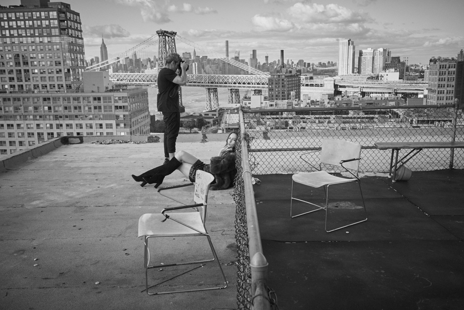 Model on a rooftop in New York.jpg