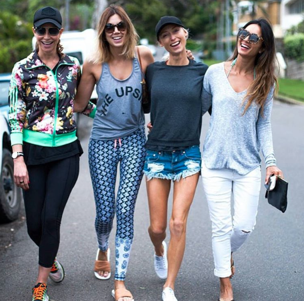Friends who fashion together stay together.