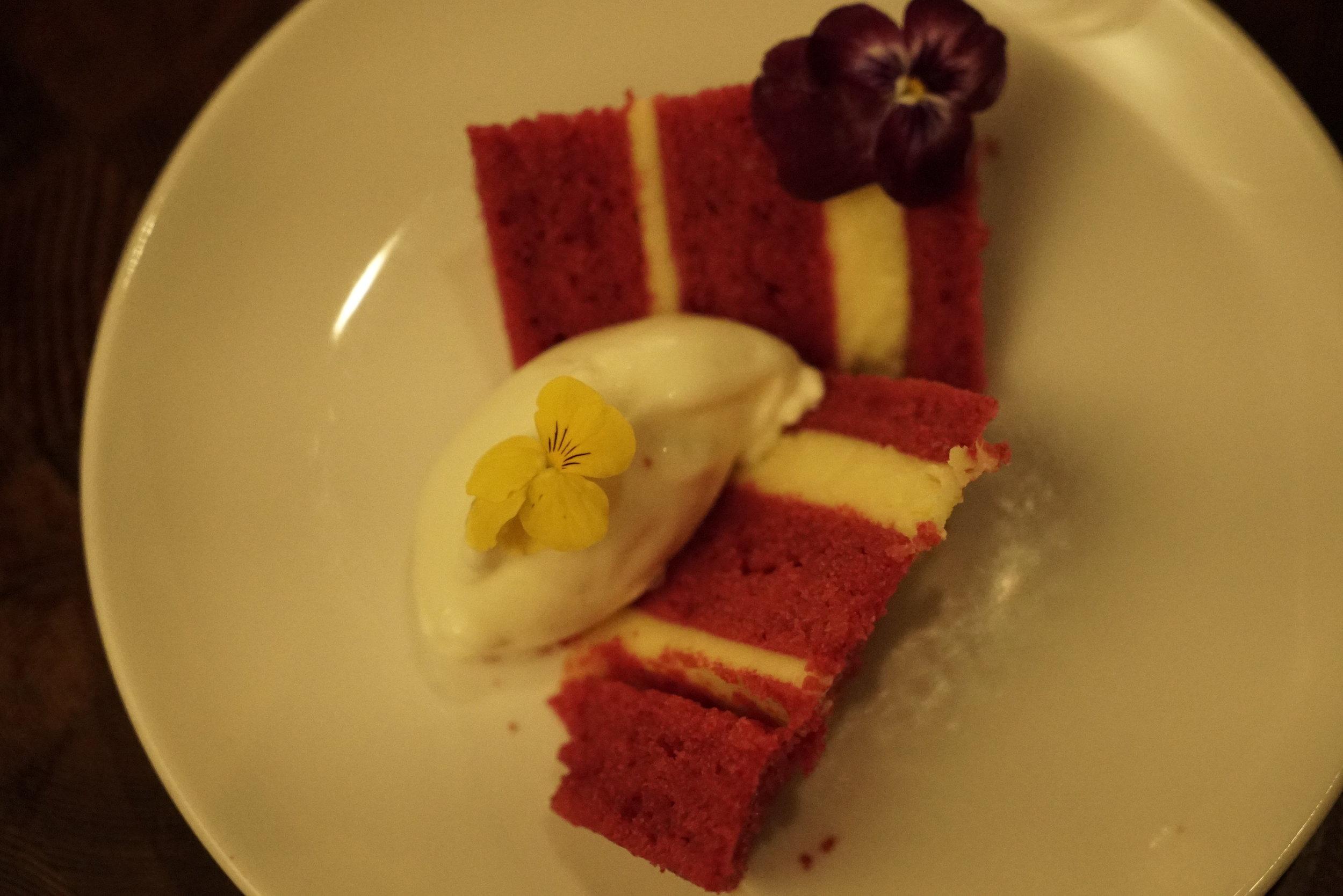 red velvet cake with cream cheese ice cream mercado.JPG