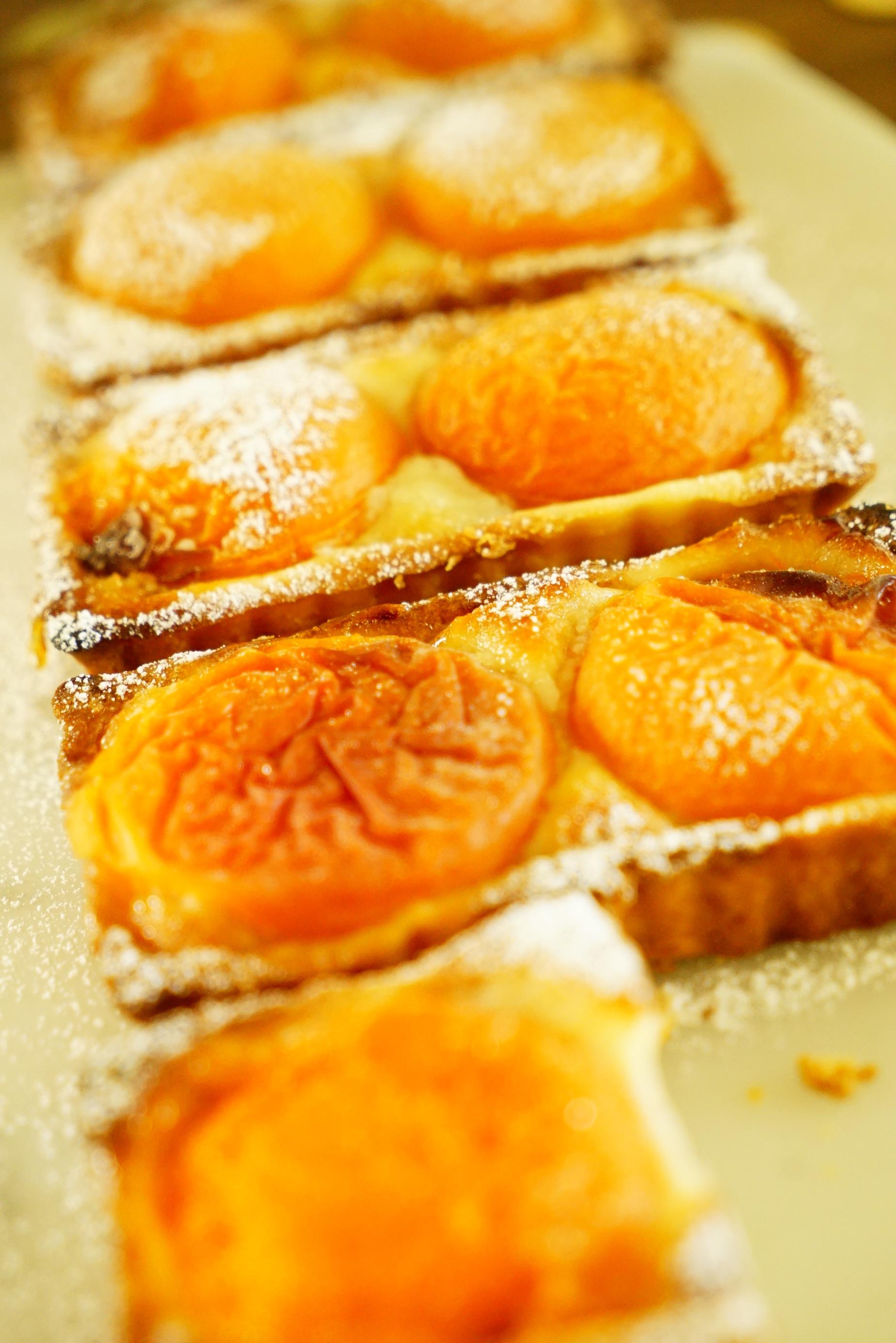 aprioct and marzipan tarts.JPG