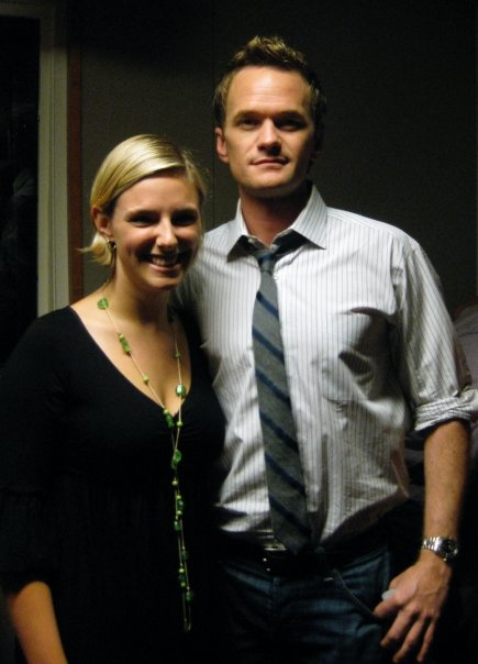 Laura with Neil Patrick Harris