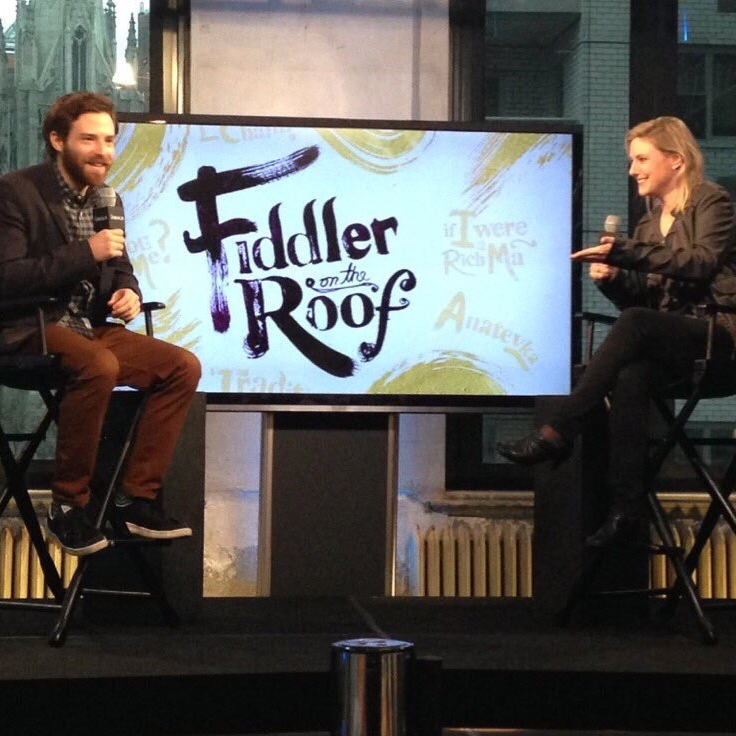"Ben Rappaport  ""Fiddler On the Roof"" & ""Mr. Robot"""