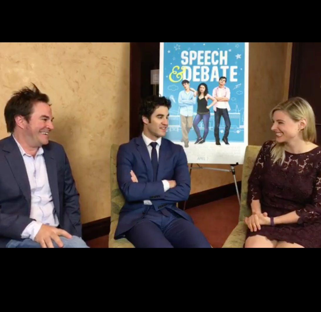"Roger Bart & Darren Criss  ""Speech & Debate"""