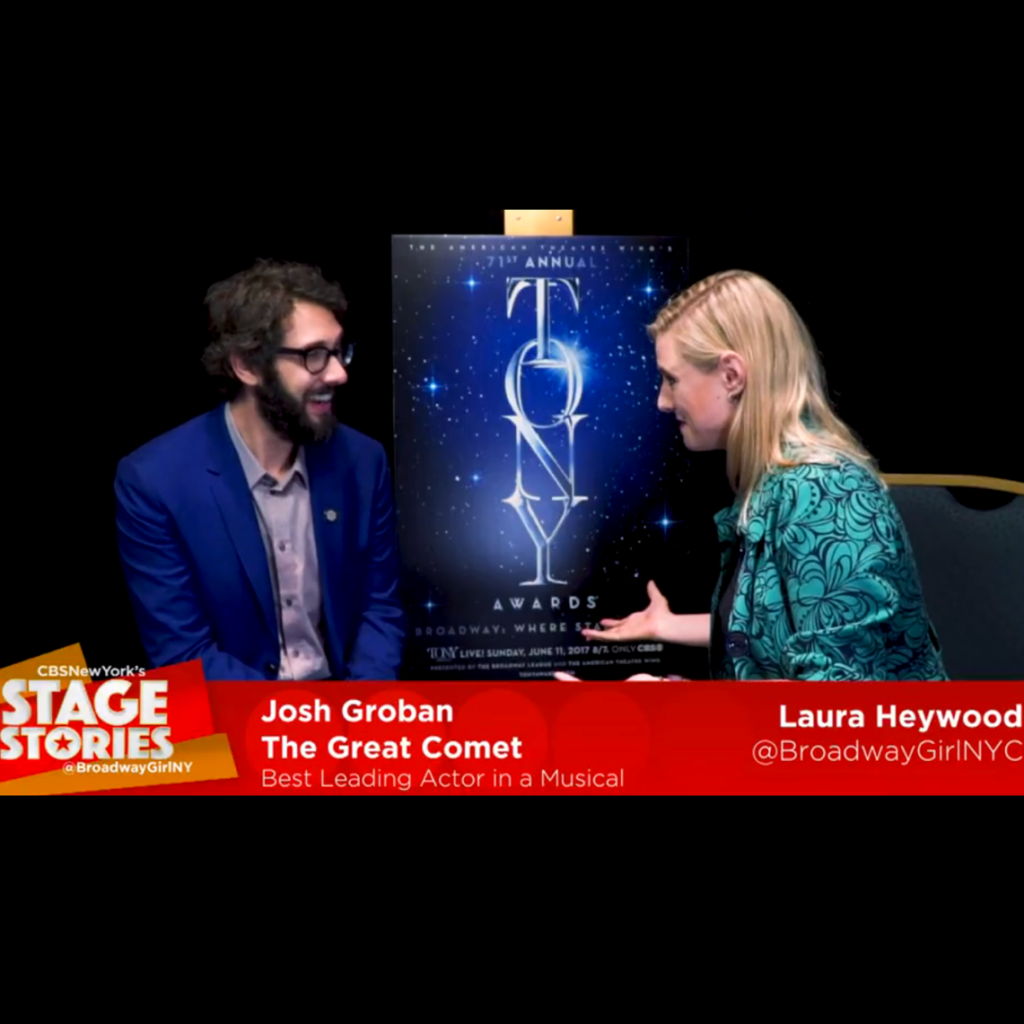 "Josh Groban  ""Natasha, Pierre & the Great Comet of 1812"""
