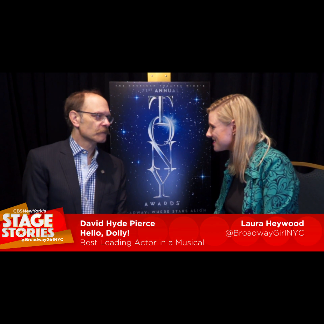 "David Hyde Pierce  ""Hello Dolly"""
