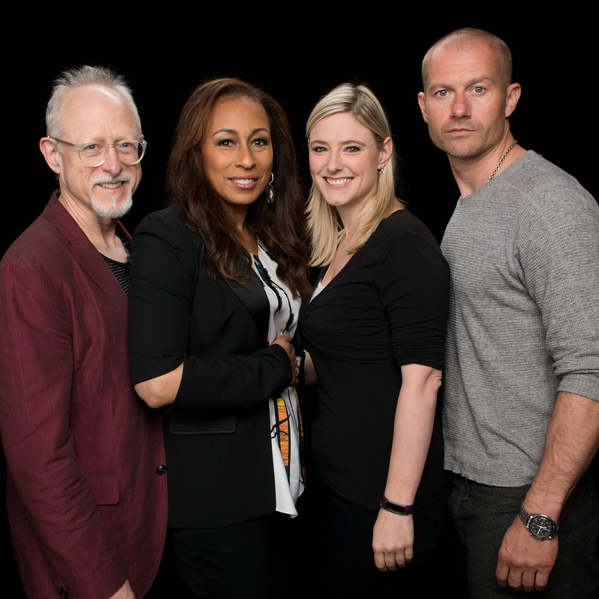 "Robert Schenkkan, Tamara Tunie & James Badge Dale  ""Building the Wall"""
