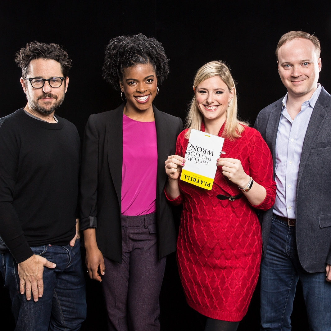 "J.J. Abrams, Ashley Bryant & Jonathan Fielding  ""The Play That Goes Wrong"""