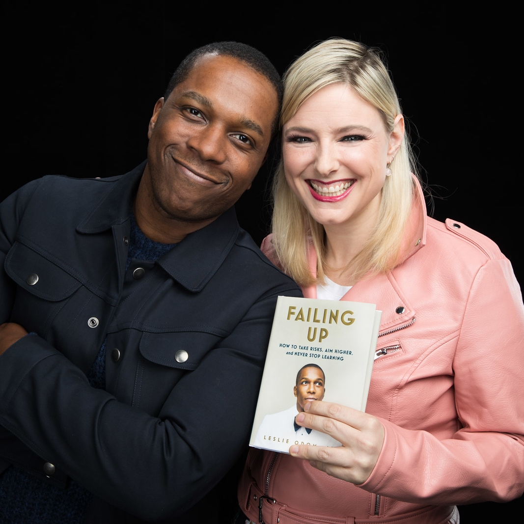 Leslie Odom, Jr.   Failing Up: How to Take Risks, Aim Higher, and Never Stop Learning