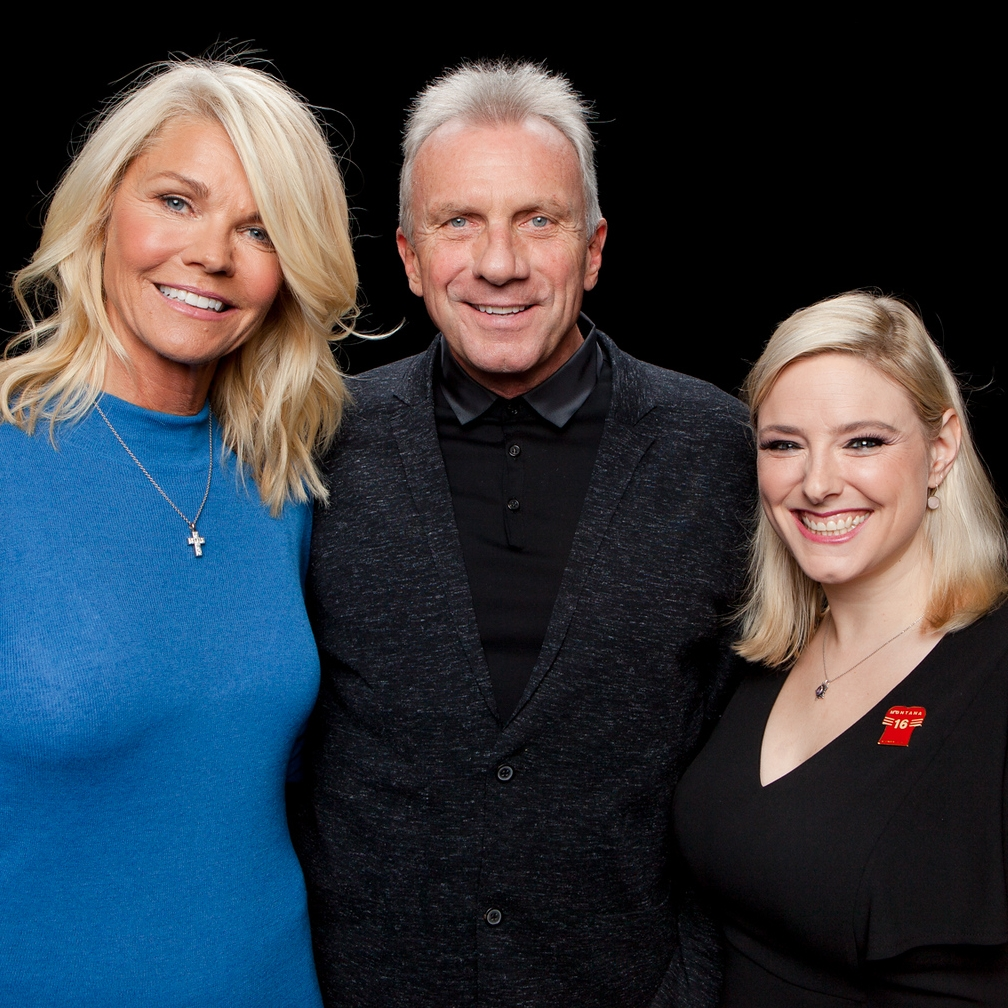 Jennifer & Joe Montana  Break Away From Heart Disease