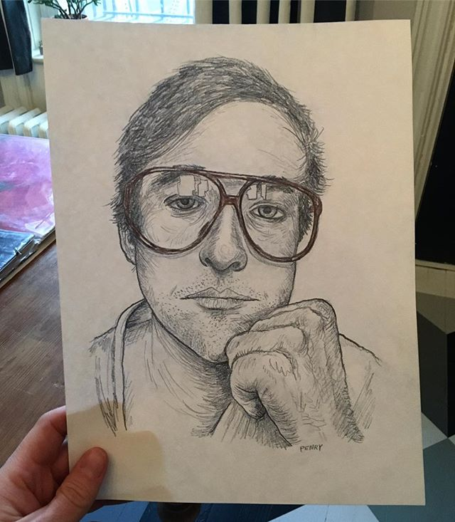 I drew @oysterthins today #icandiewithasmileonmyface