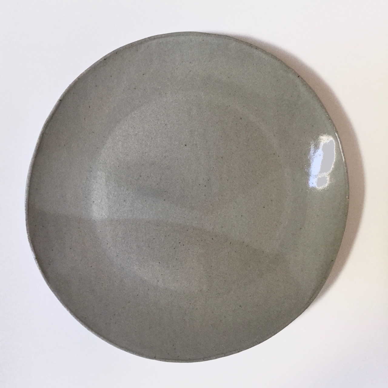 1051 Glossy grey restaurant plate top.jpg