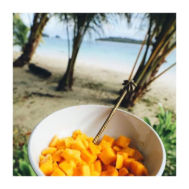 Tropical fruits, great waves, friendly people and sunshine are always a fab combination! 🌴☀️🌺 📷 @aloita_resort