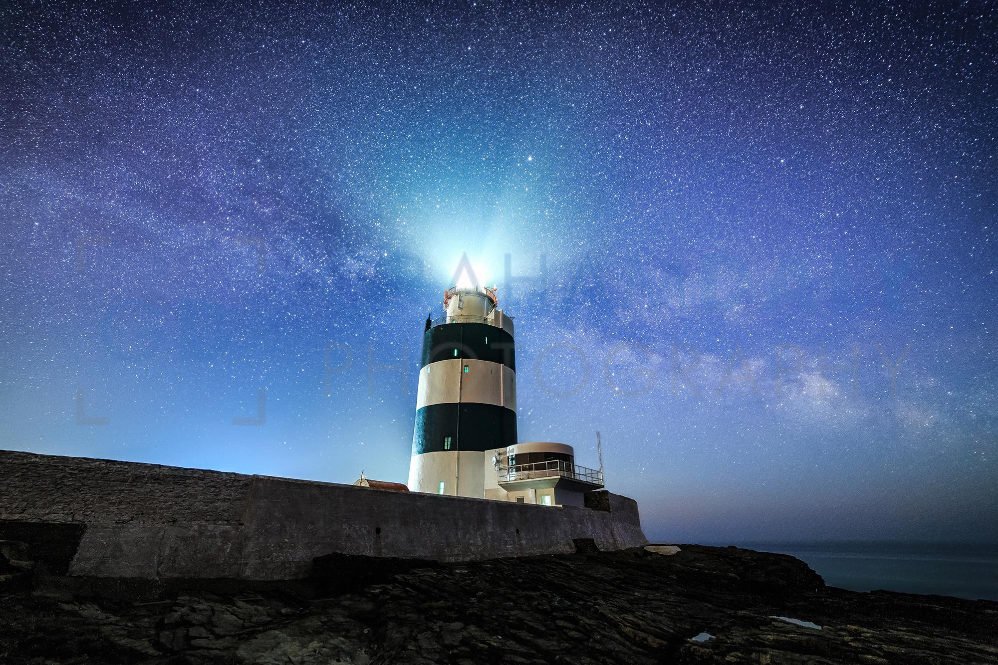 Hook Lighthouse under The Milky Way