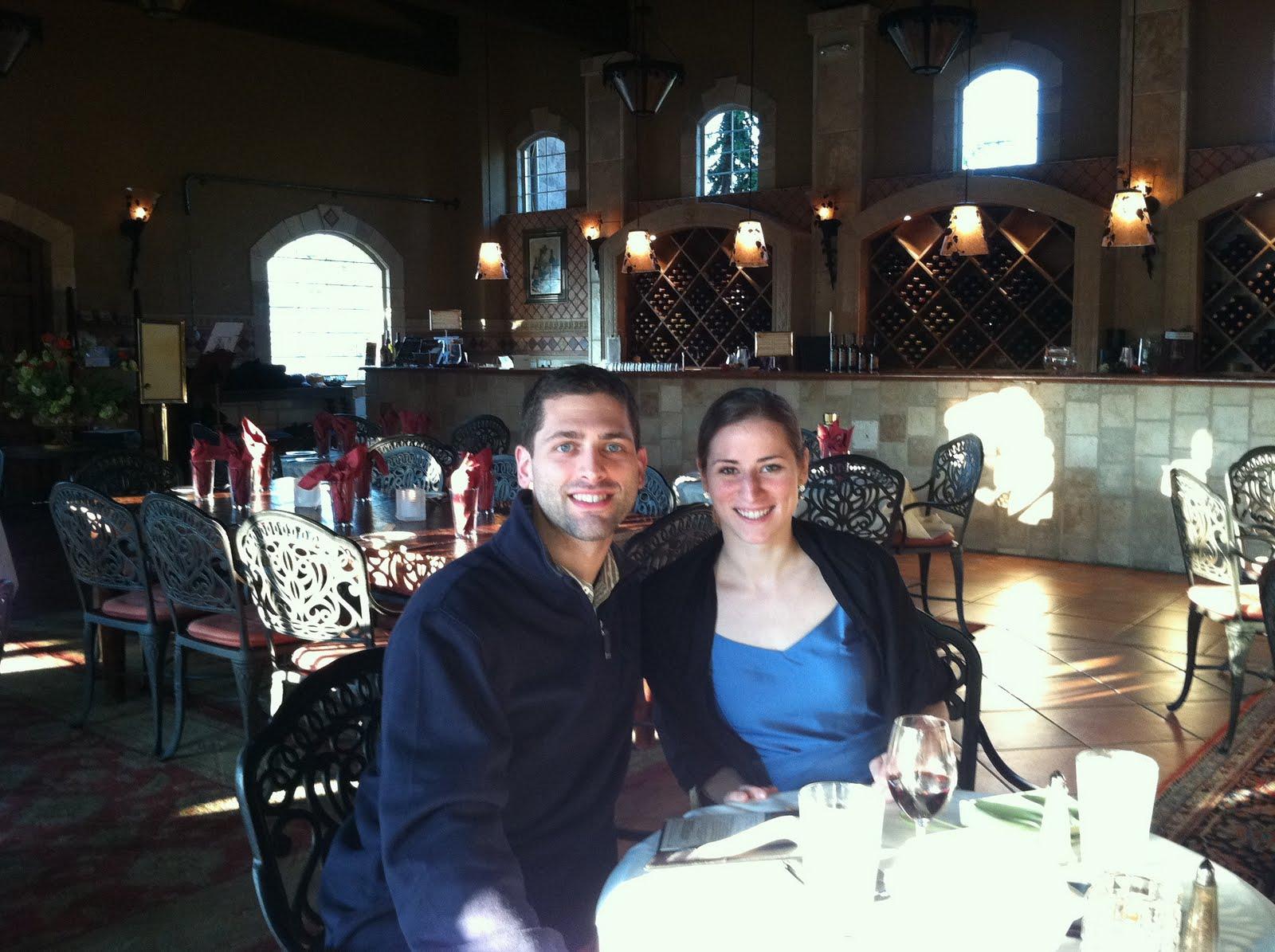 Newlyweds, on our honeymoon