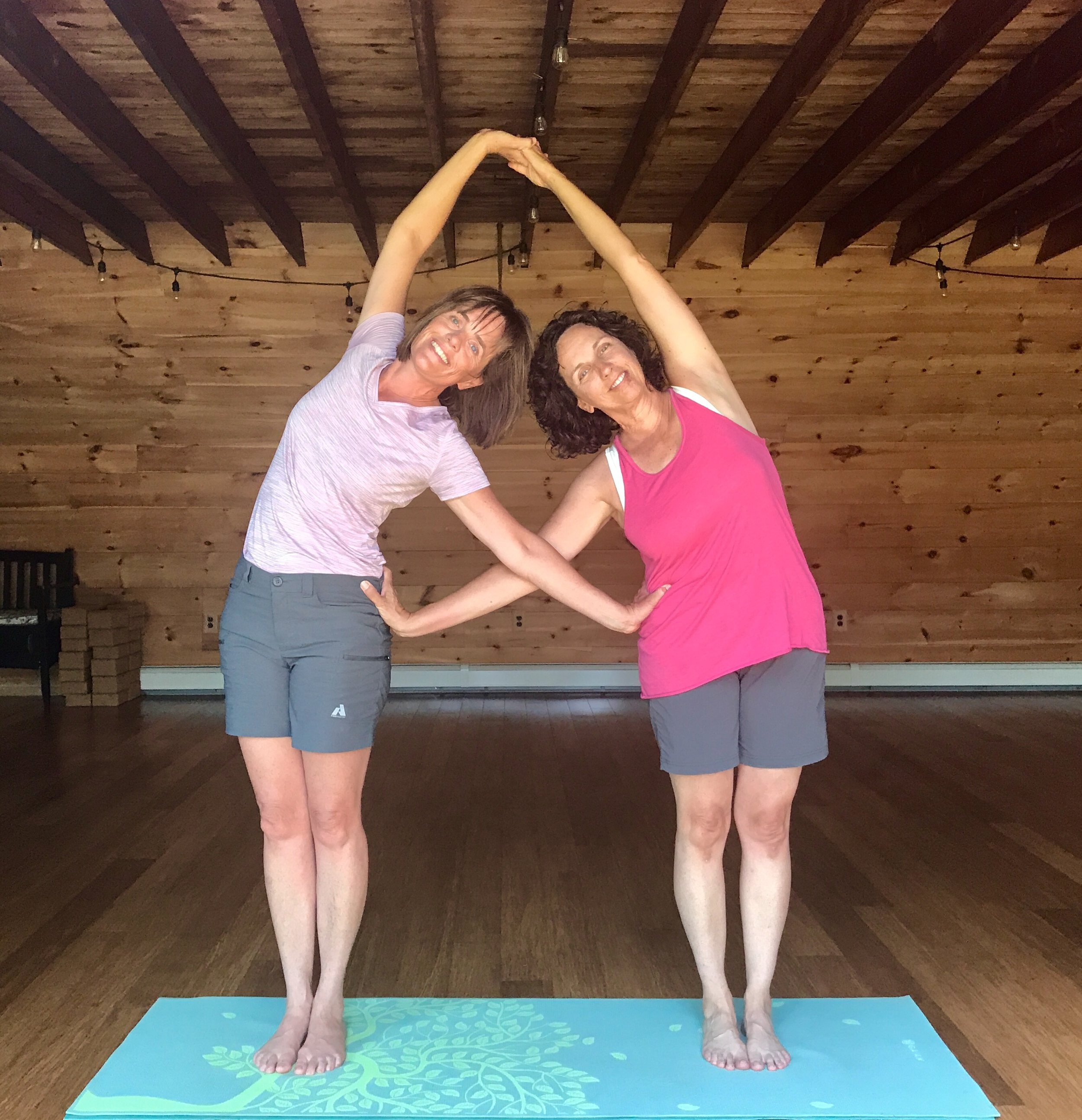 Your Team - Long time friends and soul sisters, Joanie Fisler and Alison Ritrovato have teamed up again to bring you this fantastic Mindful Adventure