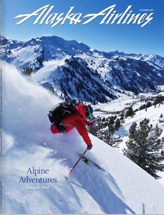Alaska Airlines Magazine Issue November 2013 - Cover