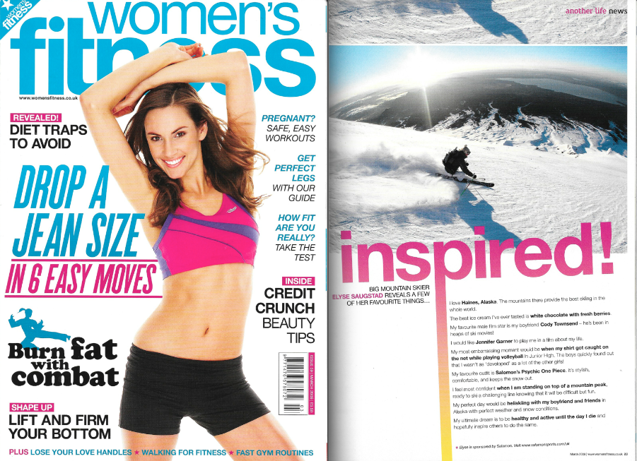 Women's Fitness March 2009 - Inspired Profile