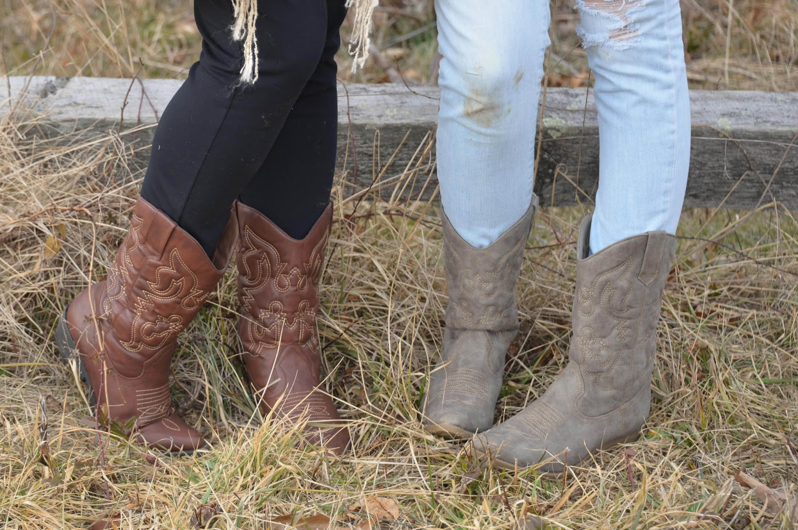 Those are my daughter's and my boots ;)  Photo credit: Beth Bradley