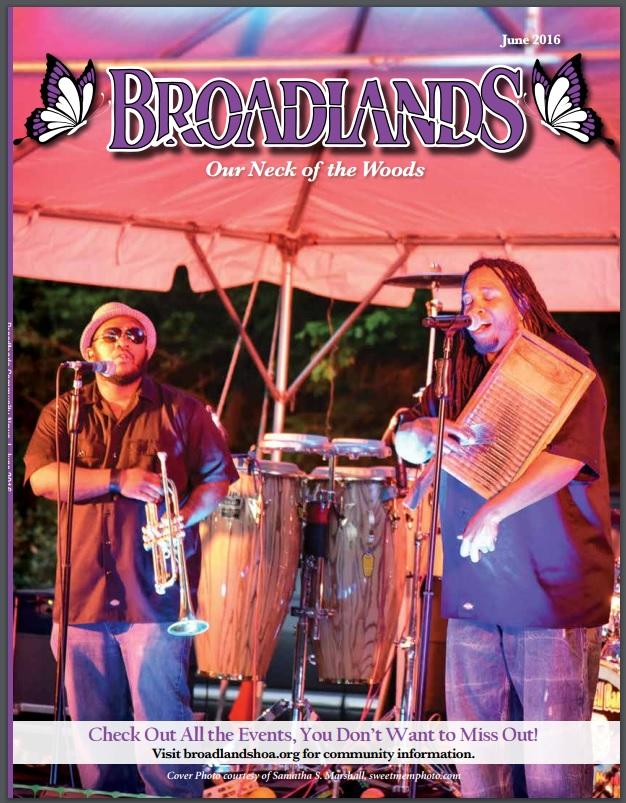 Summer Concert Series Sponsor and Official Photog for  www.broadlandslive.com