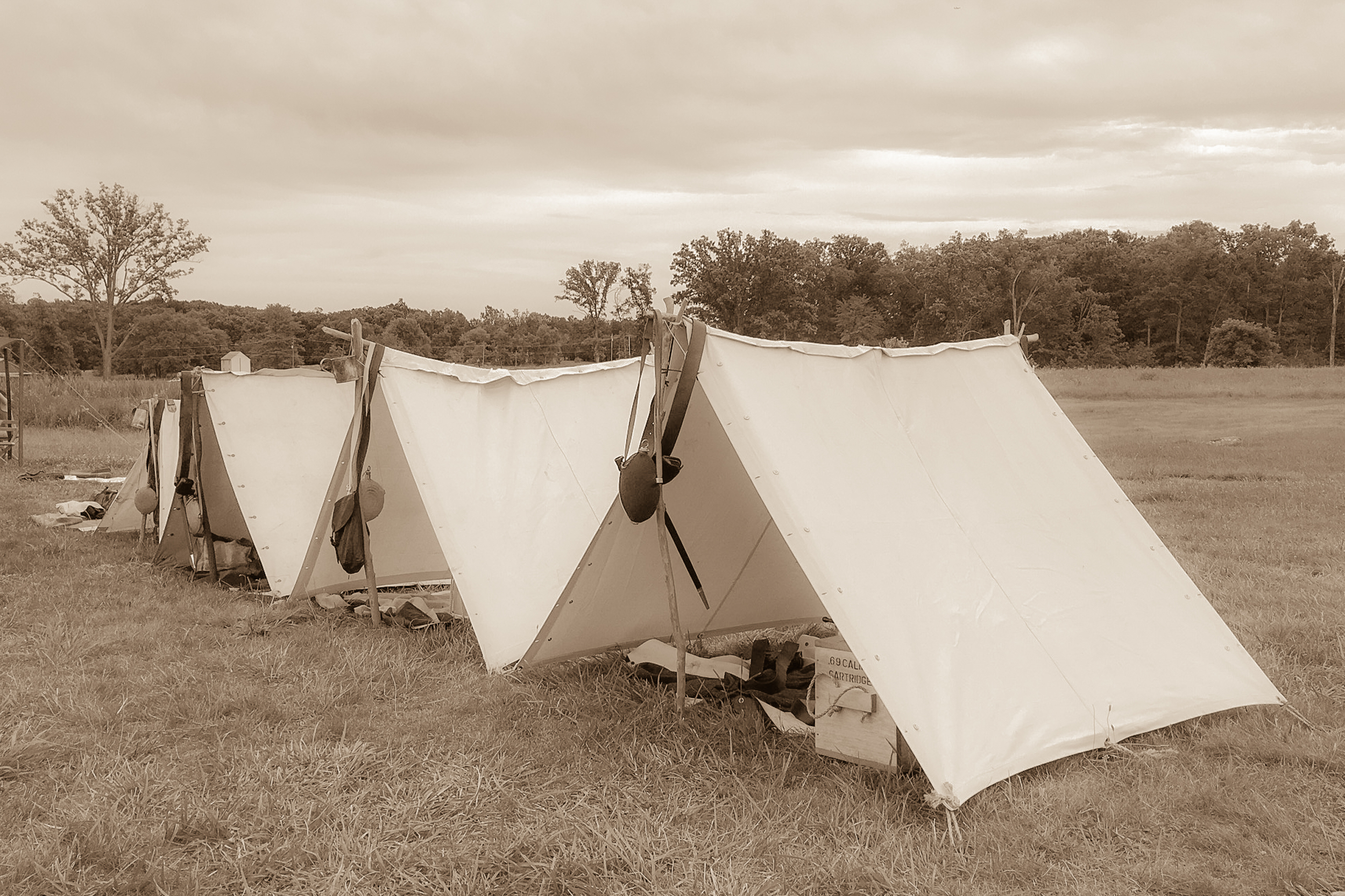 Two to a tent...