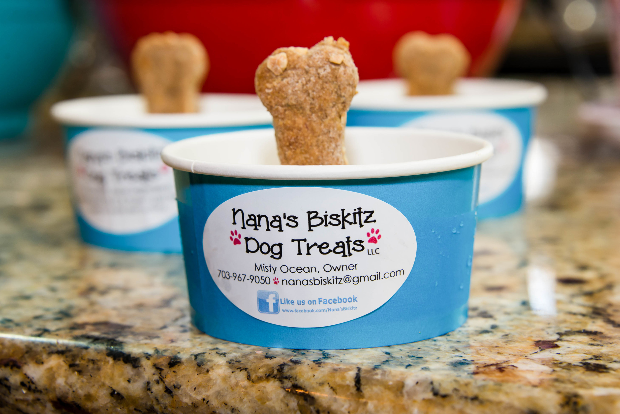 Frozen Yogurt Cups - Pup-sicle Style!
