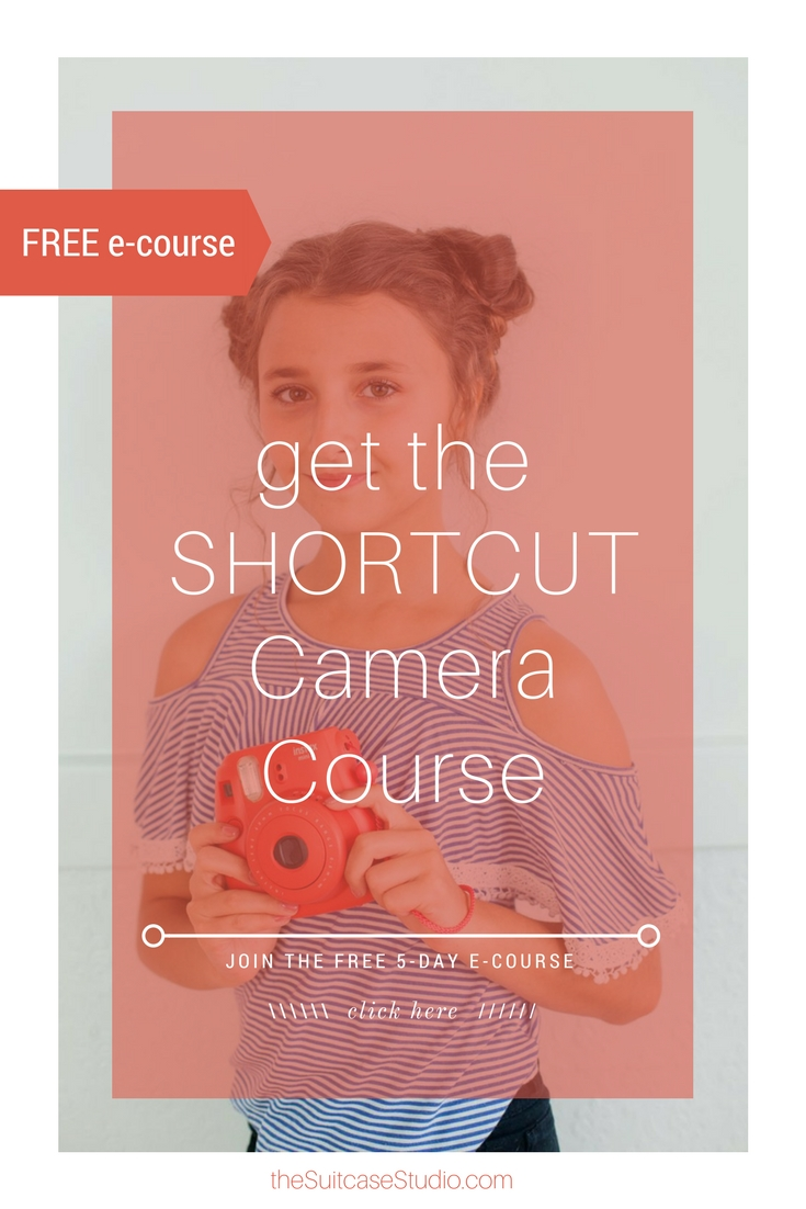 Get the FREE 5-day Shortcut Camera Course and be CONFIDENT each time you pick up your camera!