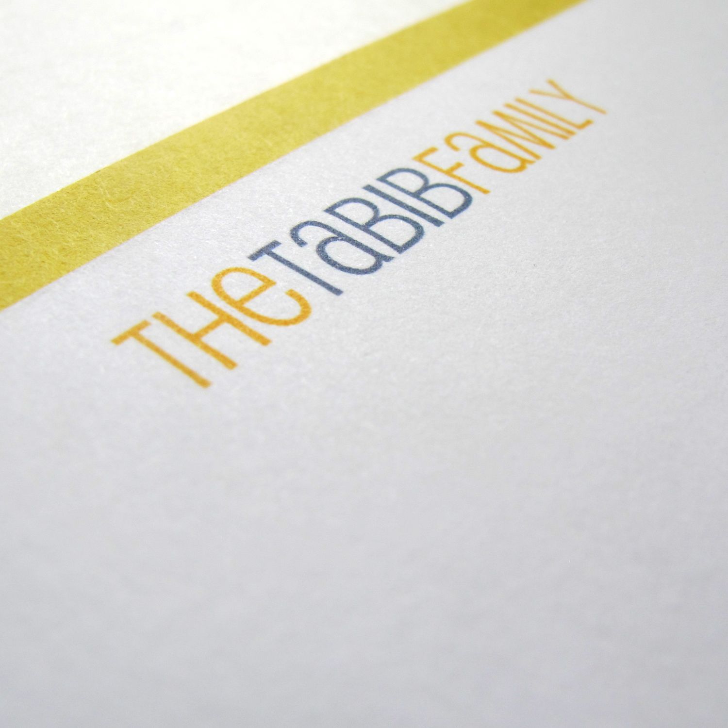 PERSONAL STATIONERY