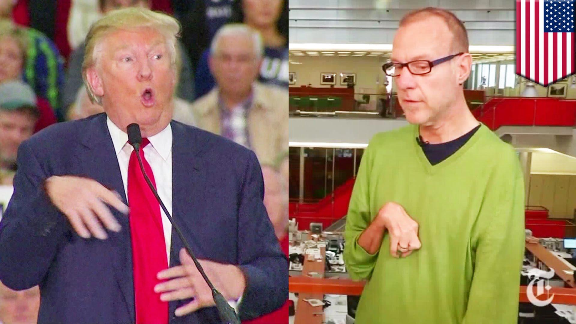 Donald Trump mocks Serge Kovaleski