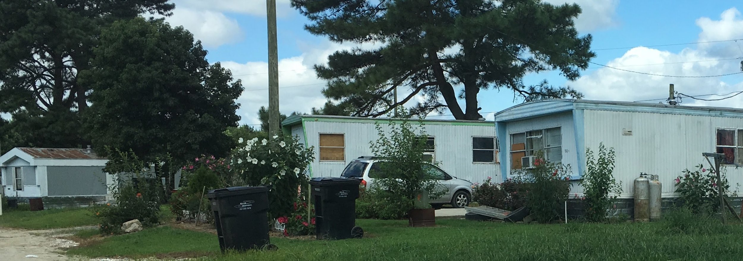 Latino homes at Rudd's Trailer Park were targeted for aggressive enforcement