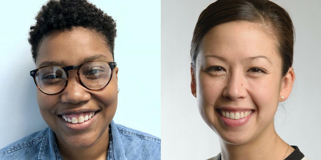 Chanel Cornett, Summer Law Clerk (left) &Lindsay Nako, Director of Litigation & Training