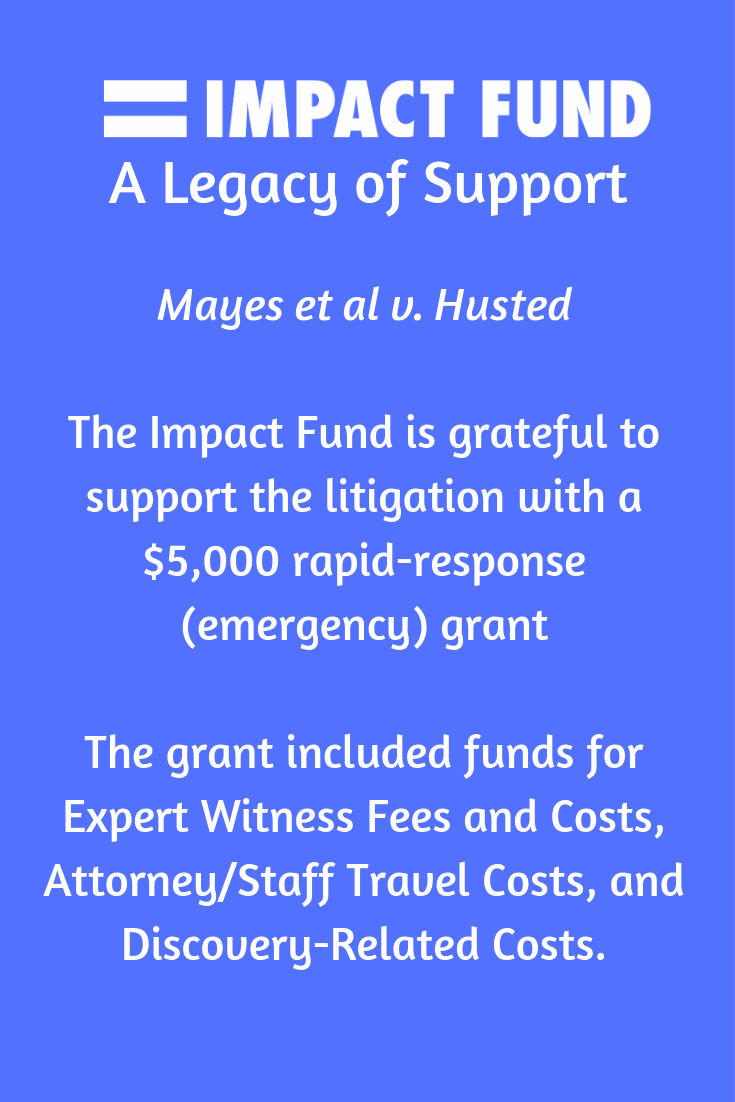 The Impact Fund was right there as the case was unfolding, with urgently needed support.