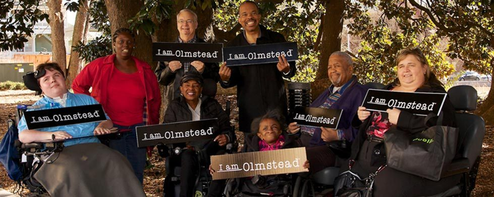 Olmstead v. L.C.  has been called the  Brown v. Board of Education  for disability rights