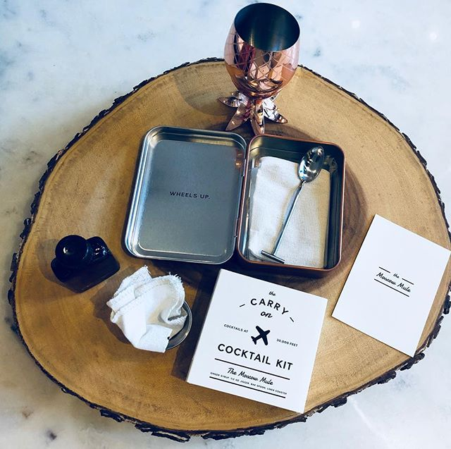 Have you picked up your @wandpdesign Moscow Mule kit for your next trip? Tag a friend you would love to share a Moscow Mule with on your next adventure.