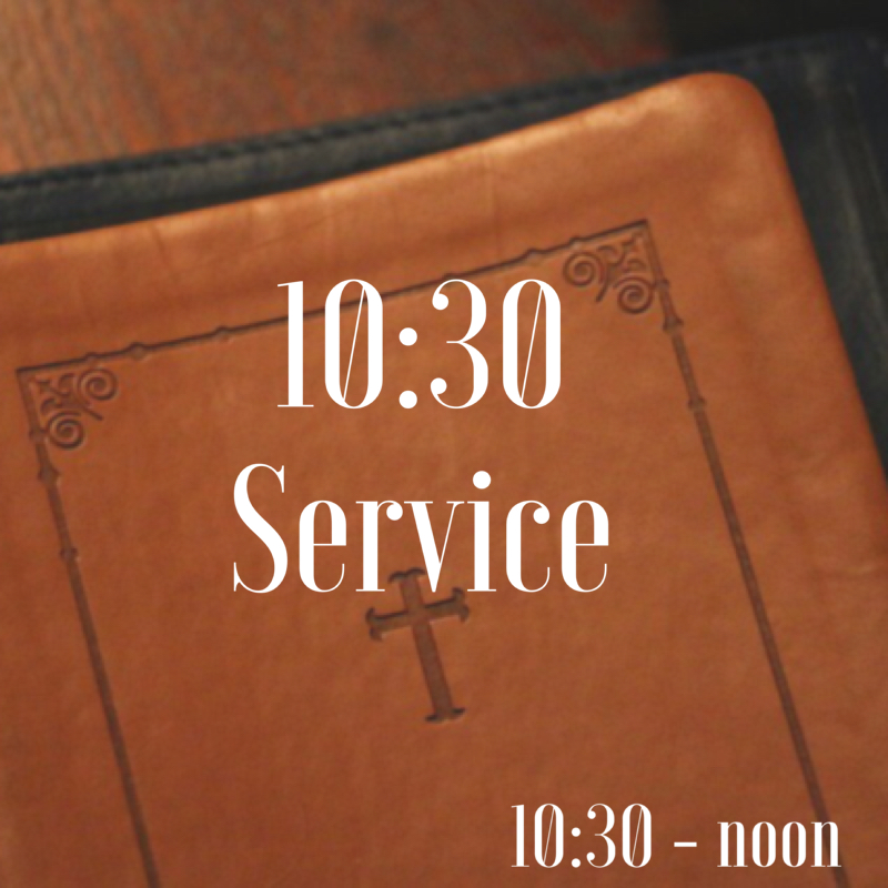 This typical Sunday morning service begins with a time of worship through music. Afterwards, the children are invited to the nursery or Sunday School and a member of our speaking team shares a Biblical message in the sanctuary.