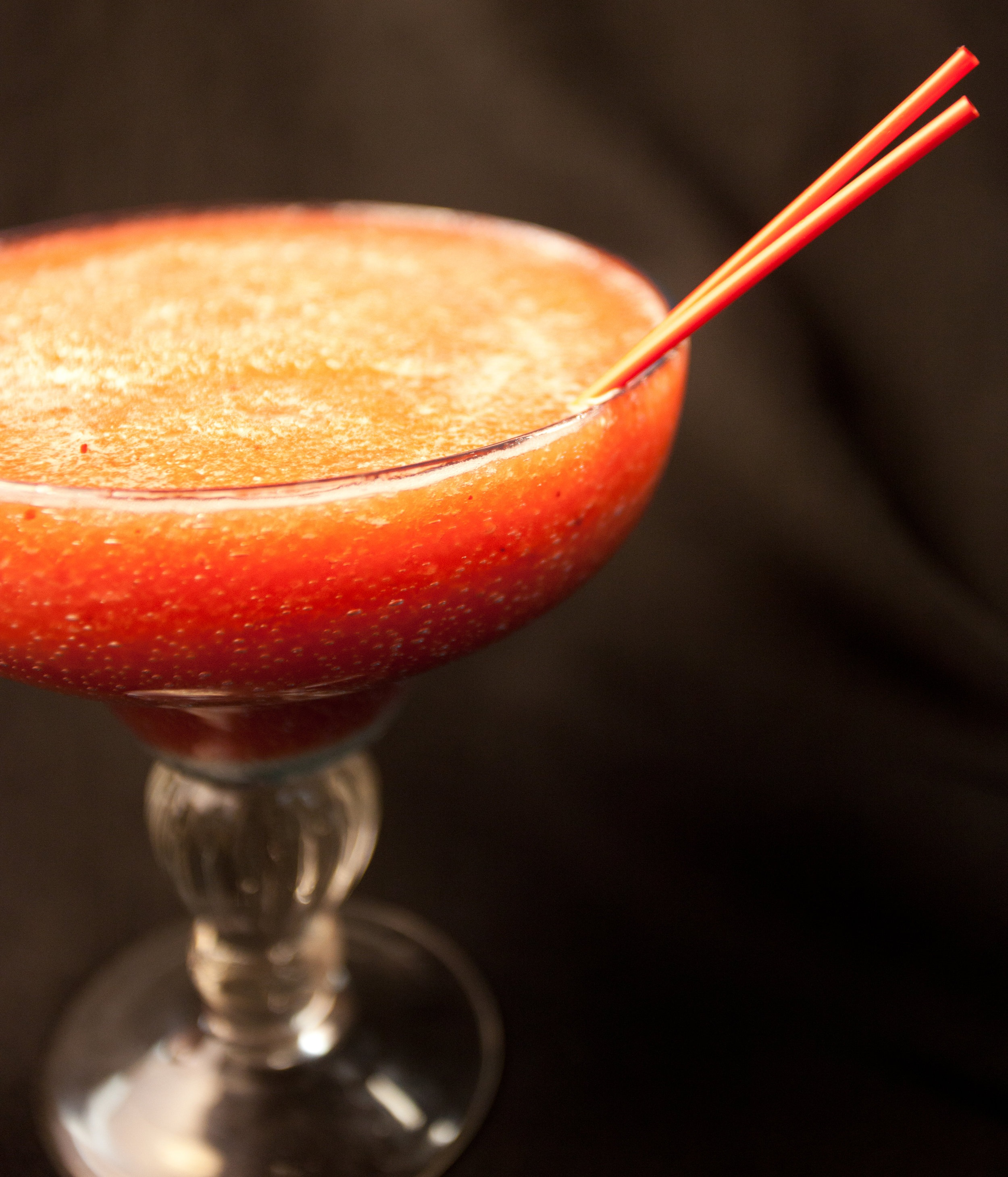 Frozen Strawberry House Margarita