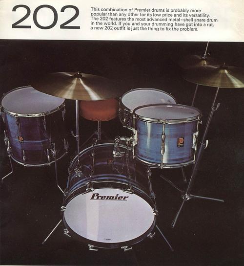 1970s Premier Vintage Drums — Not So Modern Drummer