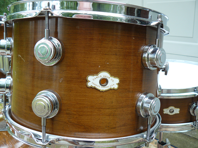 1970s Camco Drum Set Not So Modern Drummer