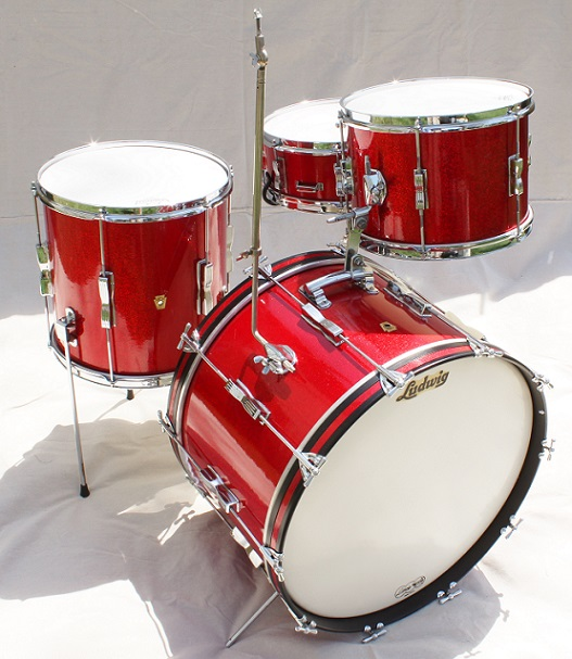 1964 Special order Ludwig Club Date set — Not So Modern Drummer