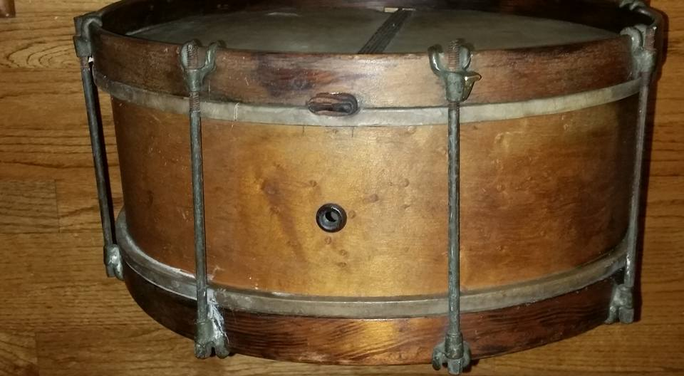 Lyon And Healy 1909 military snare drum — Not So Modern Drummer