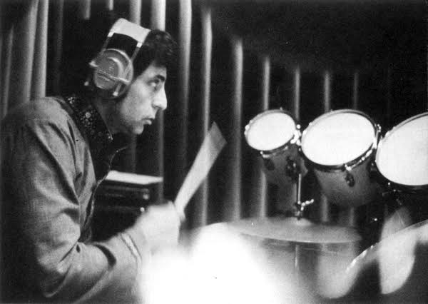 Hal Blaine, famous studio drummer who is most well known for his work with the Wrecking Crew.