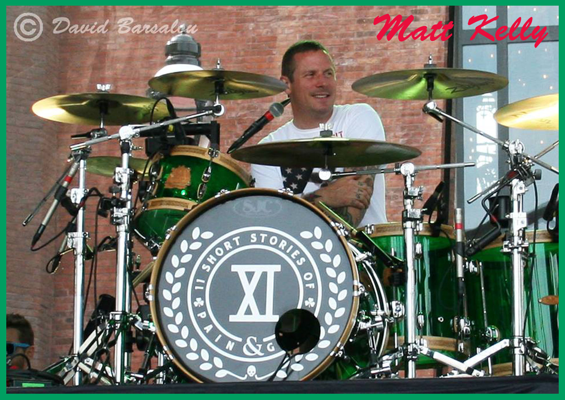 Matt Kelly: Dropkick Murphys' Driving Force — Not So Modern Drummer