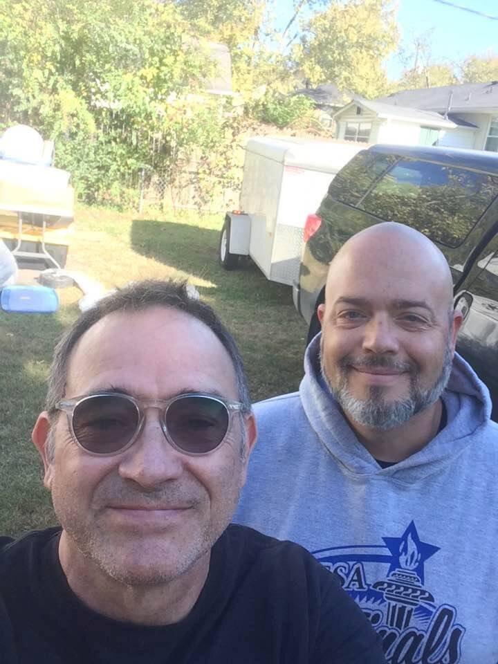 Nashville Drummers George Lawrence and Josh Hallock