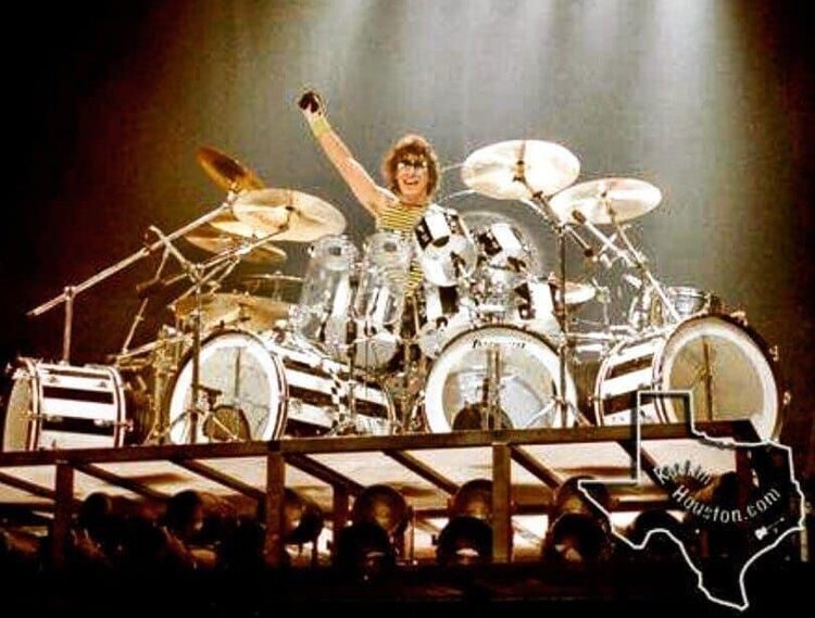 Influential Alex Van Halen Not So Modern Drummer